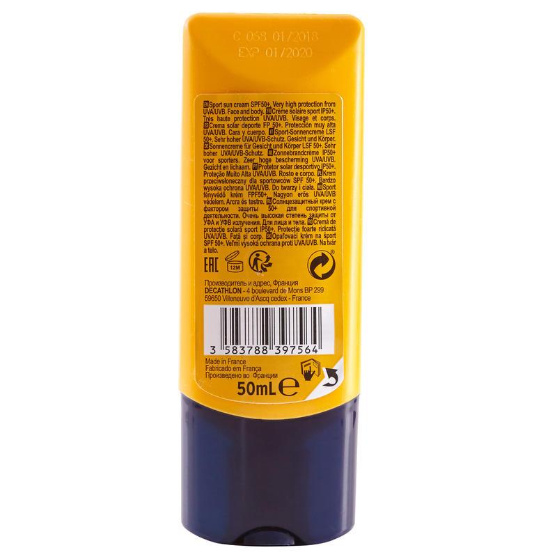 SPF50+ Sport Sun Protection Cream - 50 ml