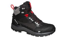 Chaussures de randonnée neige homme SH520 x-warm mi-hauteur noires.