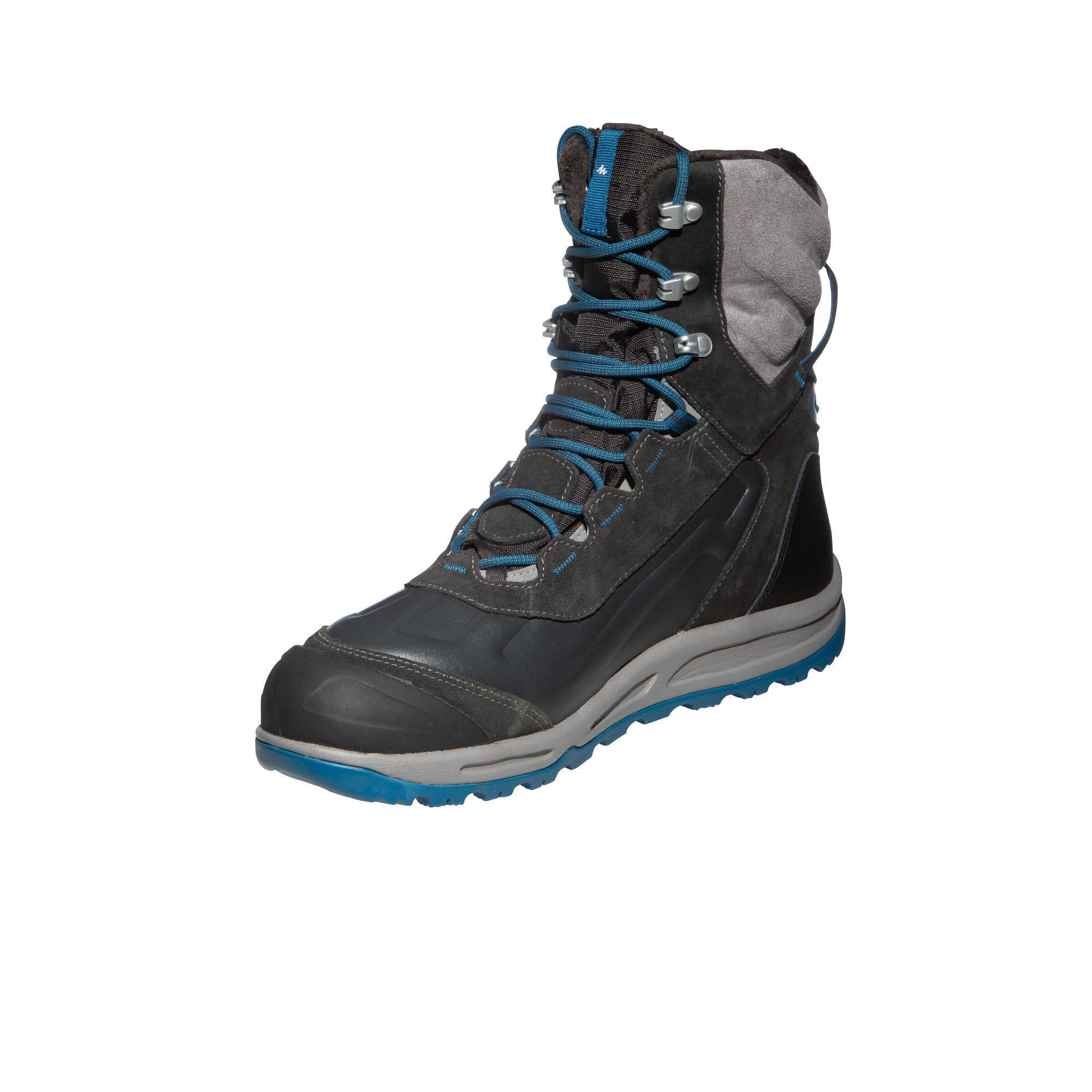 6751fdae199 grises high Chaussures warm randonnée de SH920 neige homme Quechua x  vqC8zww ...