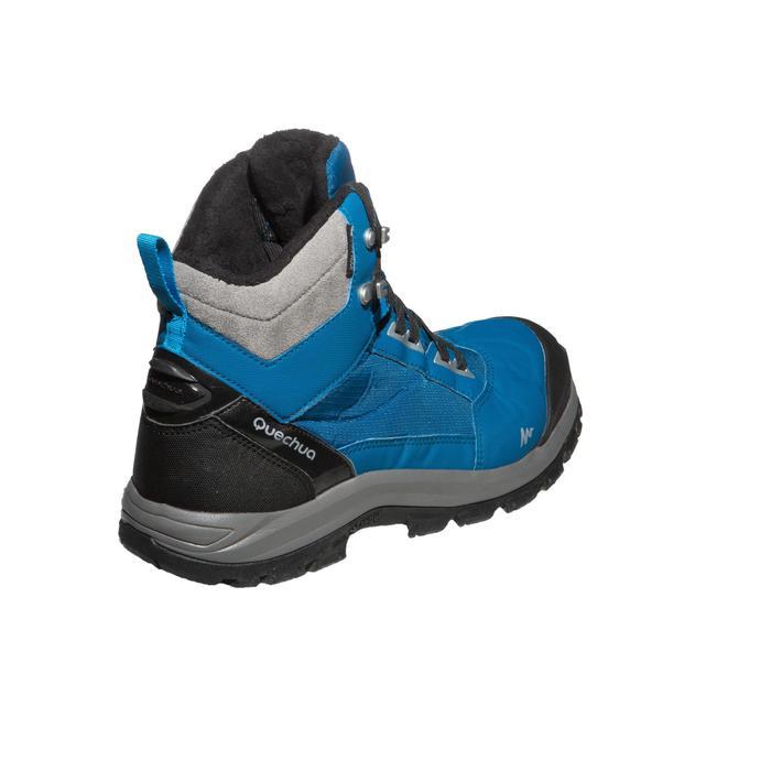 6635923e2a64ed Winterschuhe Winterwandern SH520 X-Warm wasserdicht Herren blau