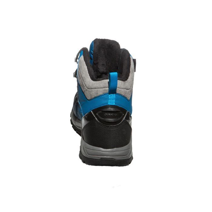 Botas de senderismo nieve hombre SH520 x-warm mid azul.