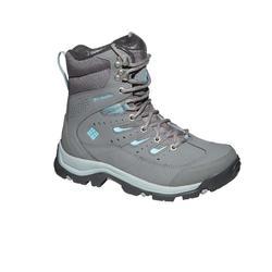 Chaussure de randonnée neige femme Columbia HailStone gris.