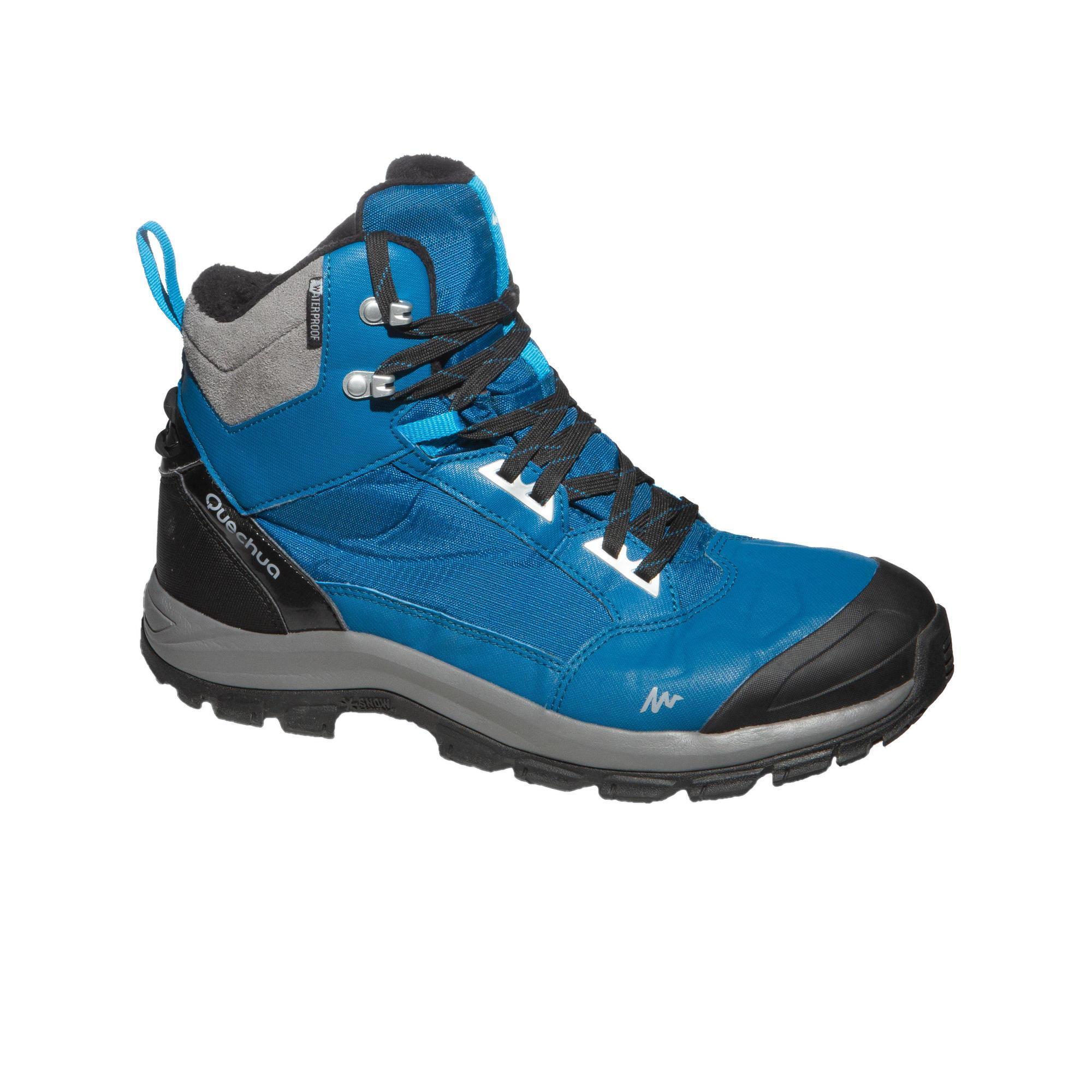 Quechua Heren wandelschoenen voor de sneeuw SH520 X-warm mid