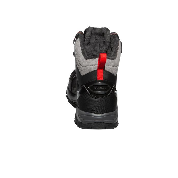 Botas de senderismo nieve hombre SH520 x-warm mid negro.