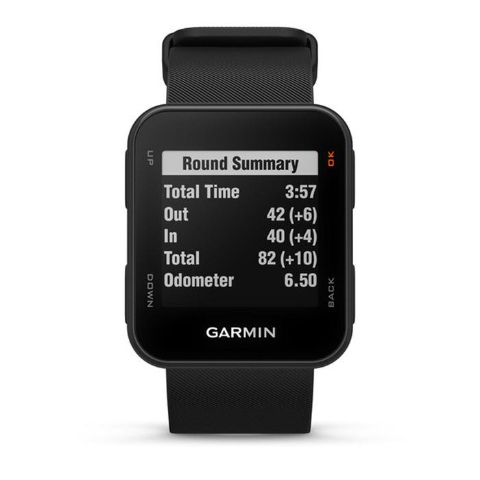 MONTRE GPS DE GOLF APPROACH S10 NOIR