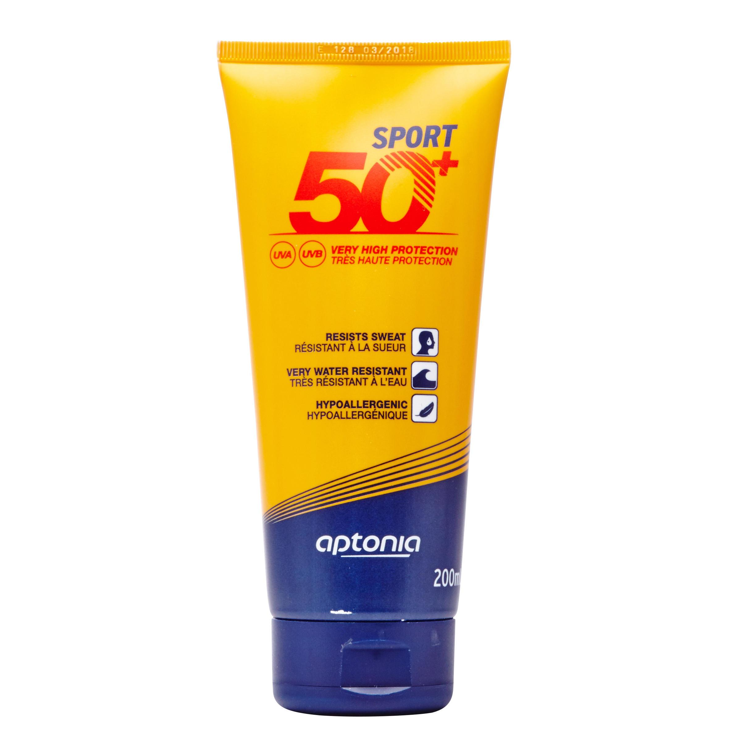 Aptonia Zonnecrème voor sporters factor 50+ 200 ml thumbnail