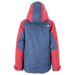 Children's All Mountain 990 Skiing Jacket Blue Burgundy