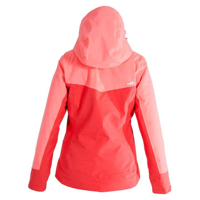 Chaqueta de esquí All Mountain mujer AM900 rojo coral