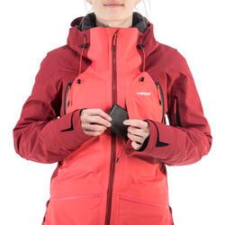 Ski-jas voor dames Freeride FR900 bordeaux/roze