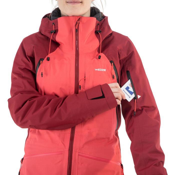 Skijacke Freeride SFR 900 Damen bordeauxrot rosa