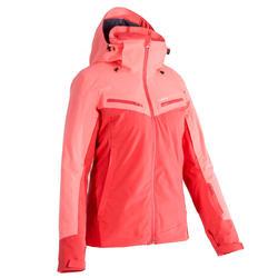 Chaqueta de Esquí All mountain Wed'ze AM900 Rojo Coral