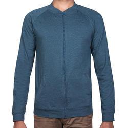 55134c643 Men's Gym & Pilates Jacket - Inkpot Blue