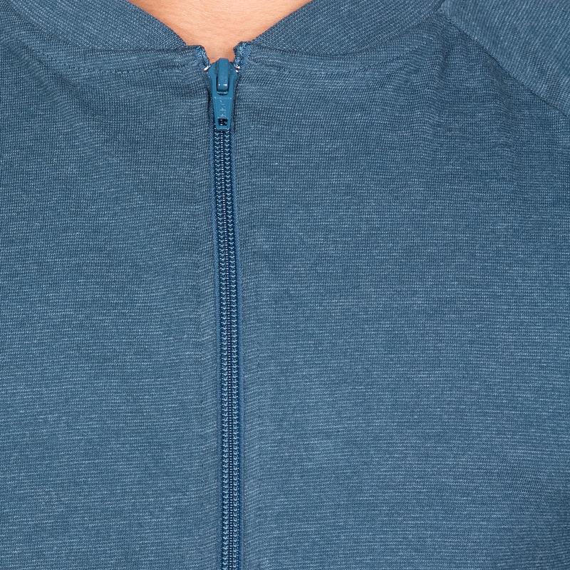 Men's Gym & Pilates Jacket - Inkpot Blue