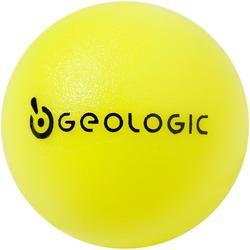 Zielkugeln Boule Freizeit 3 Kugeln gelb