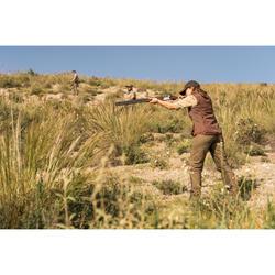 Jagdhose Damen 500 atmungsaktiv, braun