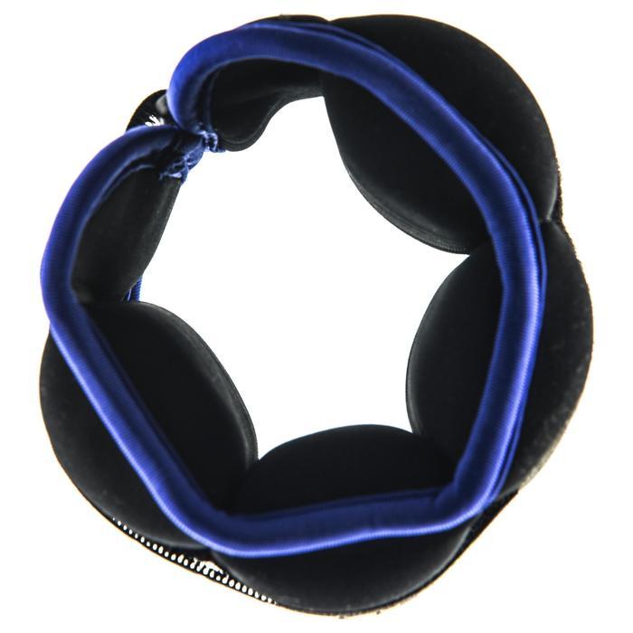 Gewichtsmanschetten Aquafitness schwarz/blau 2 × 0,5kg
