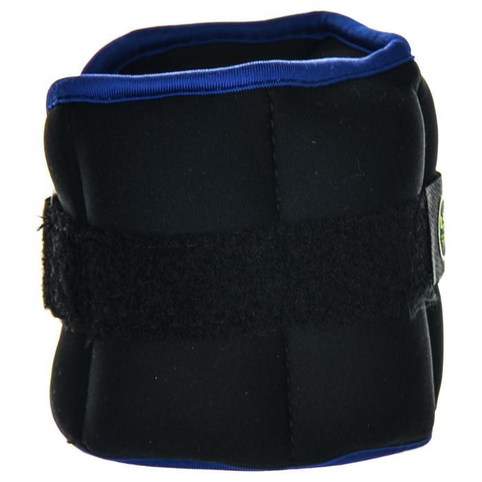 Bracelets Lestés d'Aquafitness noir bleu. 2*0,5 KG