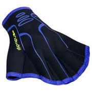 Črne rokavice za vodni fitnes iz neoprena