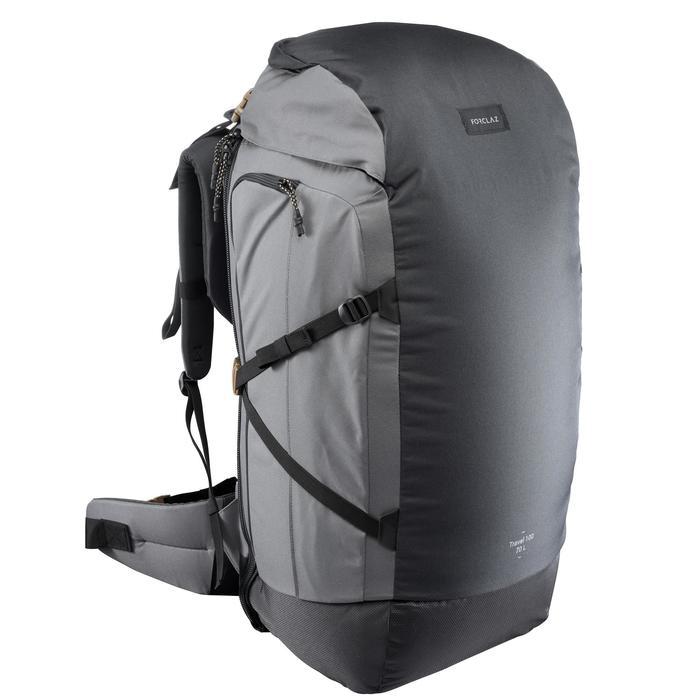 Sac à dos Trekking  TRAVEL 100  70 litres cadenassable - 1484061