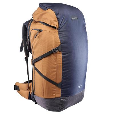 Sac à dos Trekking TRAVEL 100 70 litres cadenassable bleu