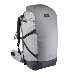 Trekrugzak Travel 100 50 liter afsluitbaar grijs