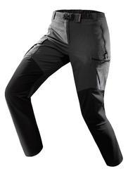 Pantalon randonnée montagne RANDO500 femme gris foncé