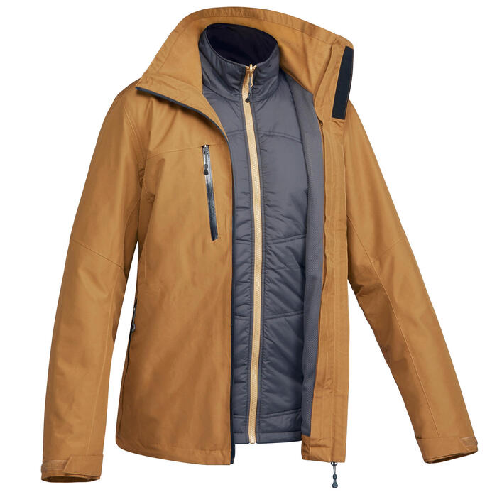 3-in-1-Jacke Travel 500 Herren camel