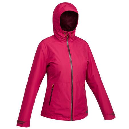 Veste randonnée VOYAGE 500 3-en-1 femme rose