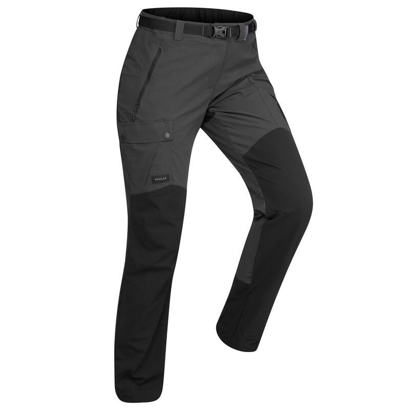 Woman's mountain trekking trousers - TREK 500