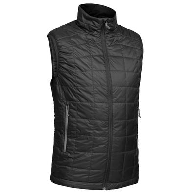 Trek 100 Men's Mountain Trekking Sleeveless Padded Gilet - Black