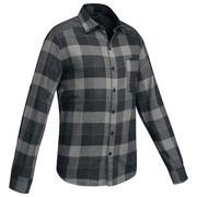 Men's Backpacking Shirt TRAVEL 100 - Black