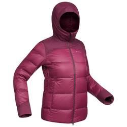 Abrigo Chaqueta Plumón Montaña y Trekking TREK 900 Acolchada Mujer Violeta