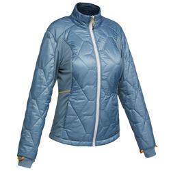 Women's Trekking 3-in-1 Jacket Travel 500 - Blue