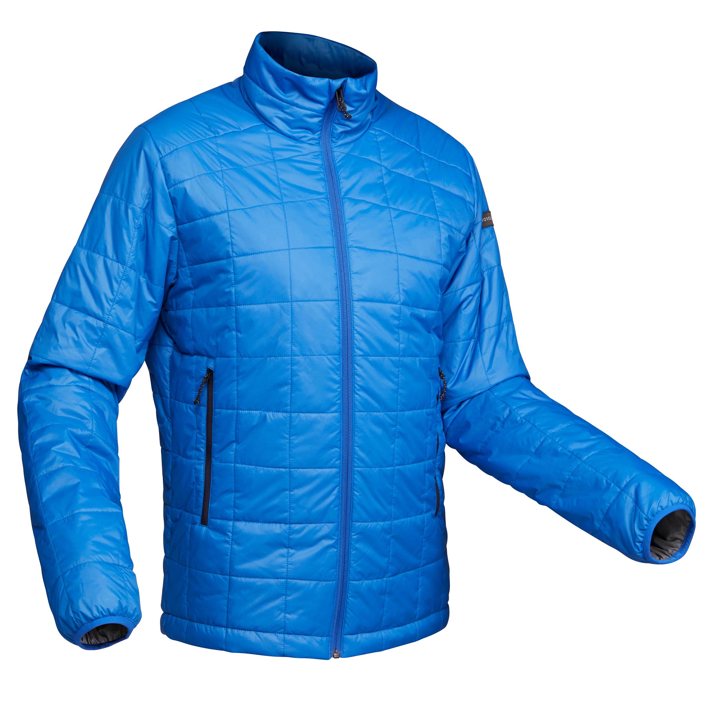 Forclaz Gewatteerde jas voor bergtrekking Trek 100 heren