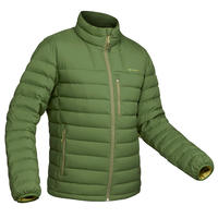 Men's Mountain Trekking Down Jacket TREK 500 Down - Green