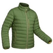 Men's Mountain Trekking Down Jacket - Temp Rating -10°C - Trek 500 - green