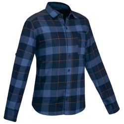 Men's Backpacking Shirt Travel100 - Blue