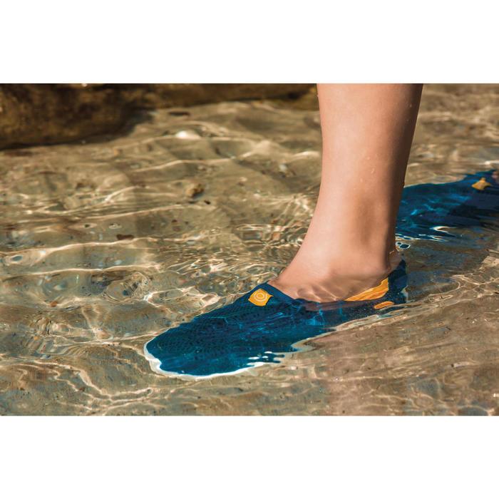Chaussures aquatiques Aquashoes 120 enfant bleues jaunes - 1484265