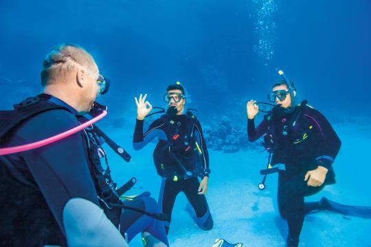 accessoires de plongée subea test presse