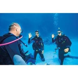 Combinaison de plongée sous-marine SCD 100 3 mm homme avec fermeture dorsale