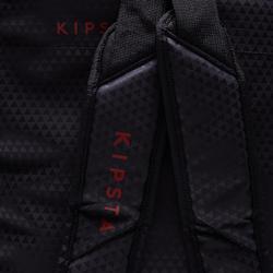 Sporttas op wieltjes Intensif 30 liter zwart rood