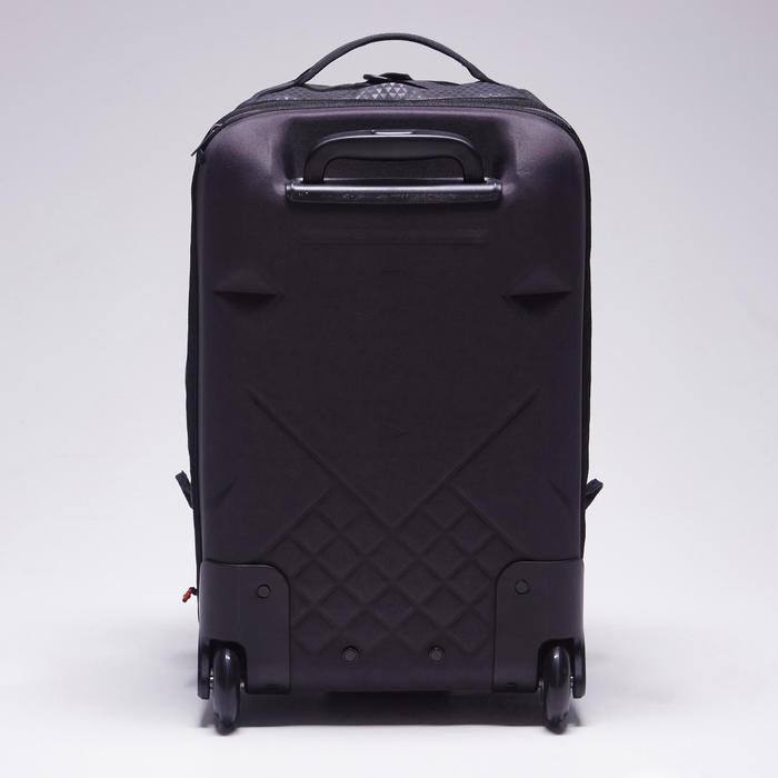 Sac de sports collectifs à roulettes Away 35 litres noir rouge - 1484309