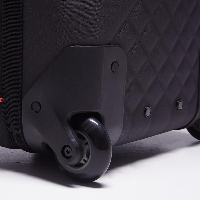 Sac de sports collectifs à roulettes Away 35 litres noir rouge - 1484311