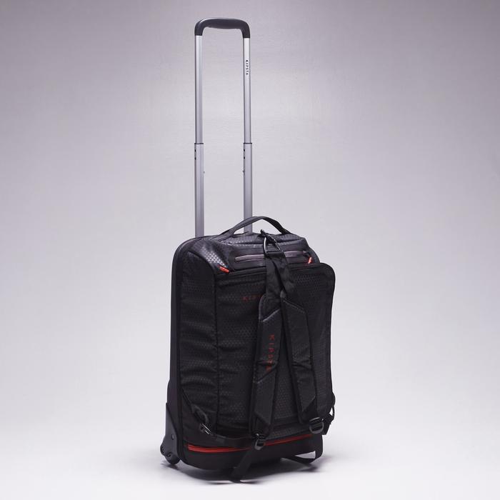 Sporttasche mit Rollen Trolley Intensive 30l schwarz/rot