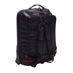 Sporttas op wielen voor teamsport Away 30 liter zwart rood