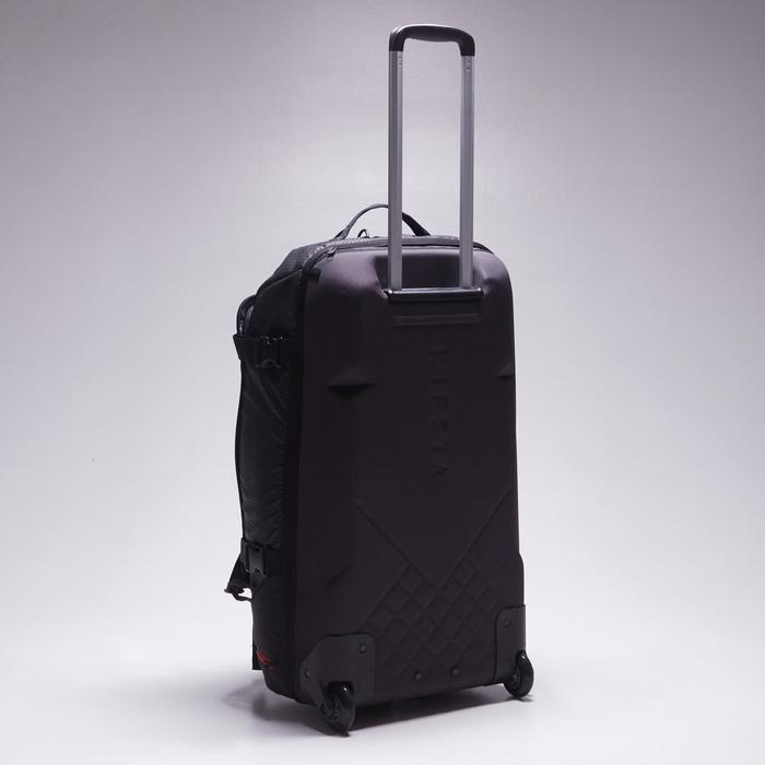 Bolsa de deporte con ruedas trolley Intensif 65 litros negro rojo ... dfc2f20cfcb41