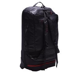 Away 65 Litre Wheeled Sports Bag - Black/Red