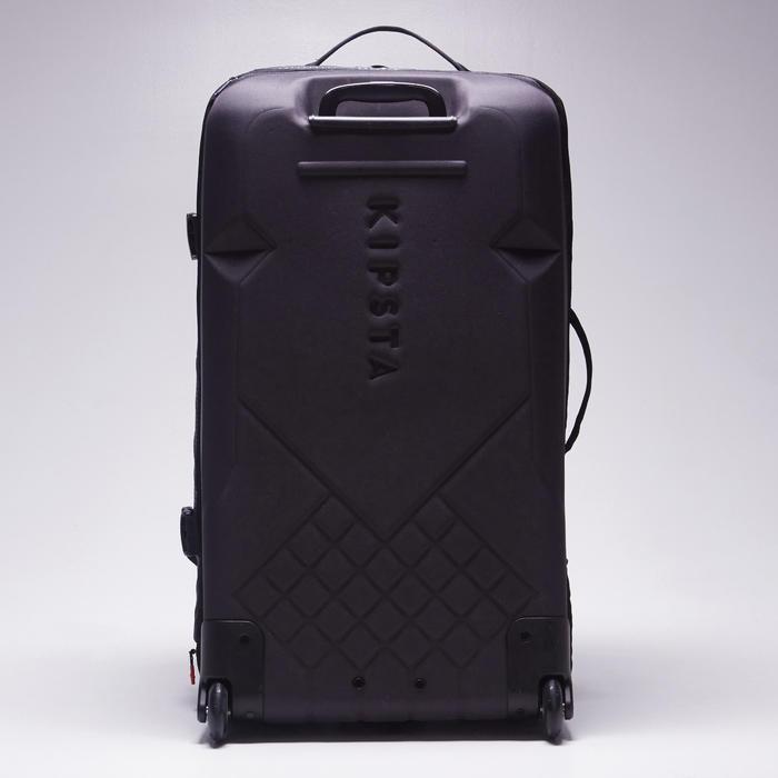 Sac de sports collectifs à roulettes Away 90 litres noir rouge - 1484343