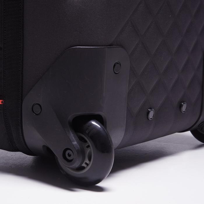 Sac de sports collectifs à roulettes Away 90 litres noir rouge - 1484346