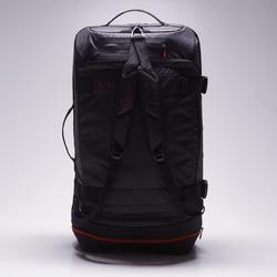 Sporttas op wieltjes Intensif 90 liter zwart rood